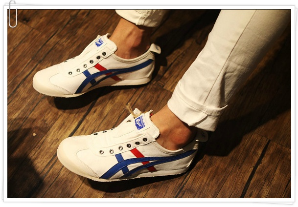 onitsuka tiger mexico66 slip on cv  w  r  b   th1b2n
