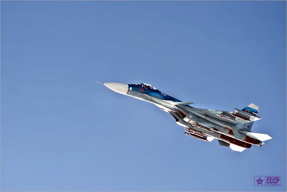러시아공군 SU--33(SU-27K)의 이륙과정