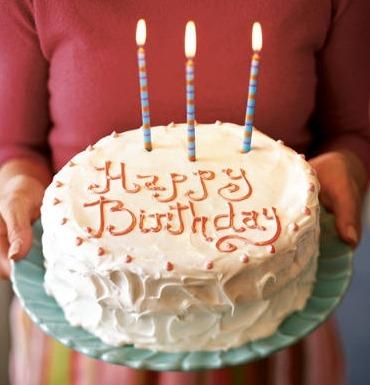ケーキをプレゼント!