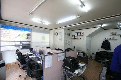 작은(소형) 사무실 인테리어 셀프도배로 꾸며보기