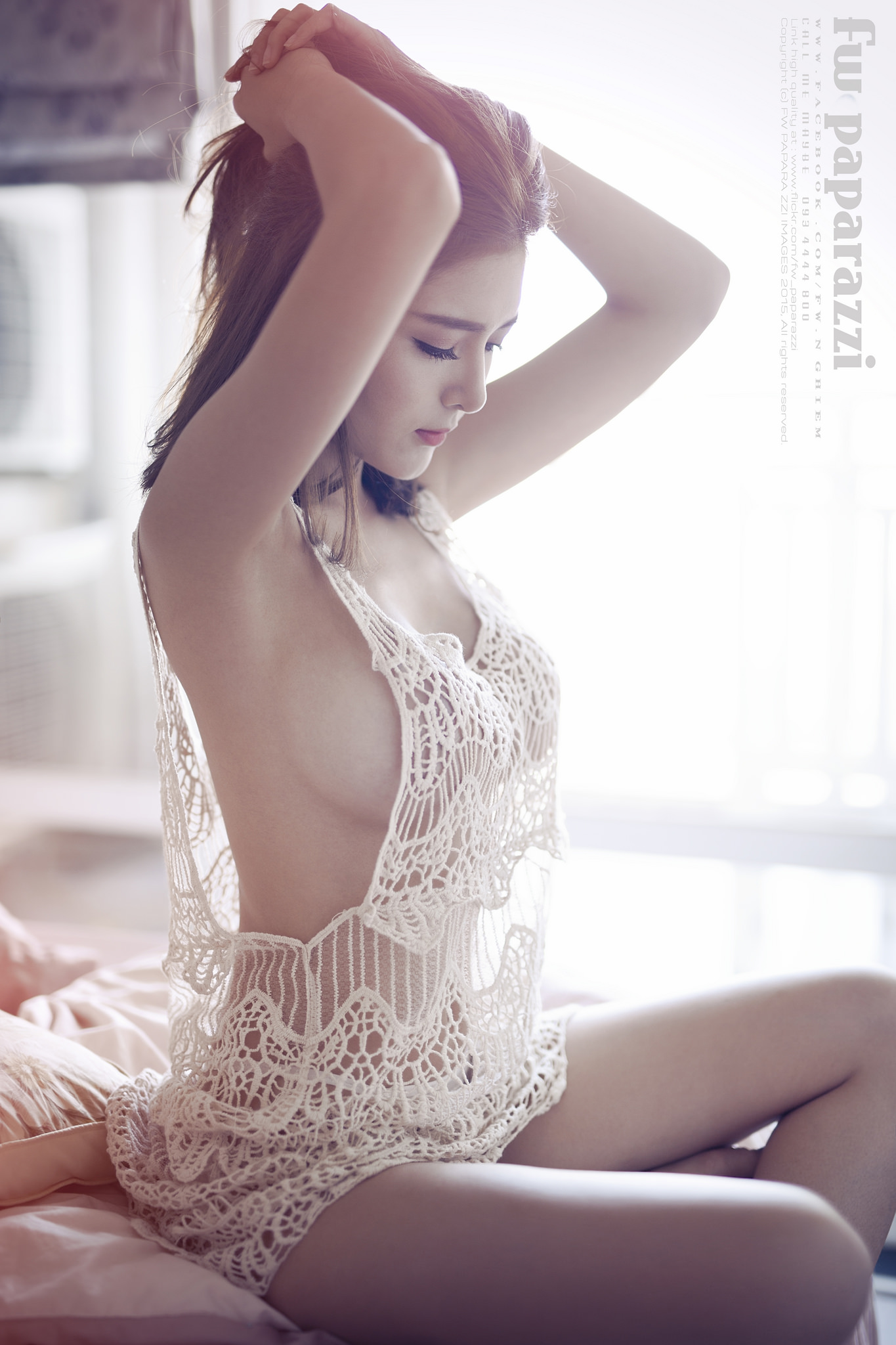hot mood Asian glamour
