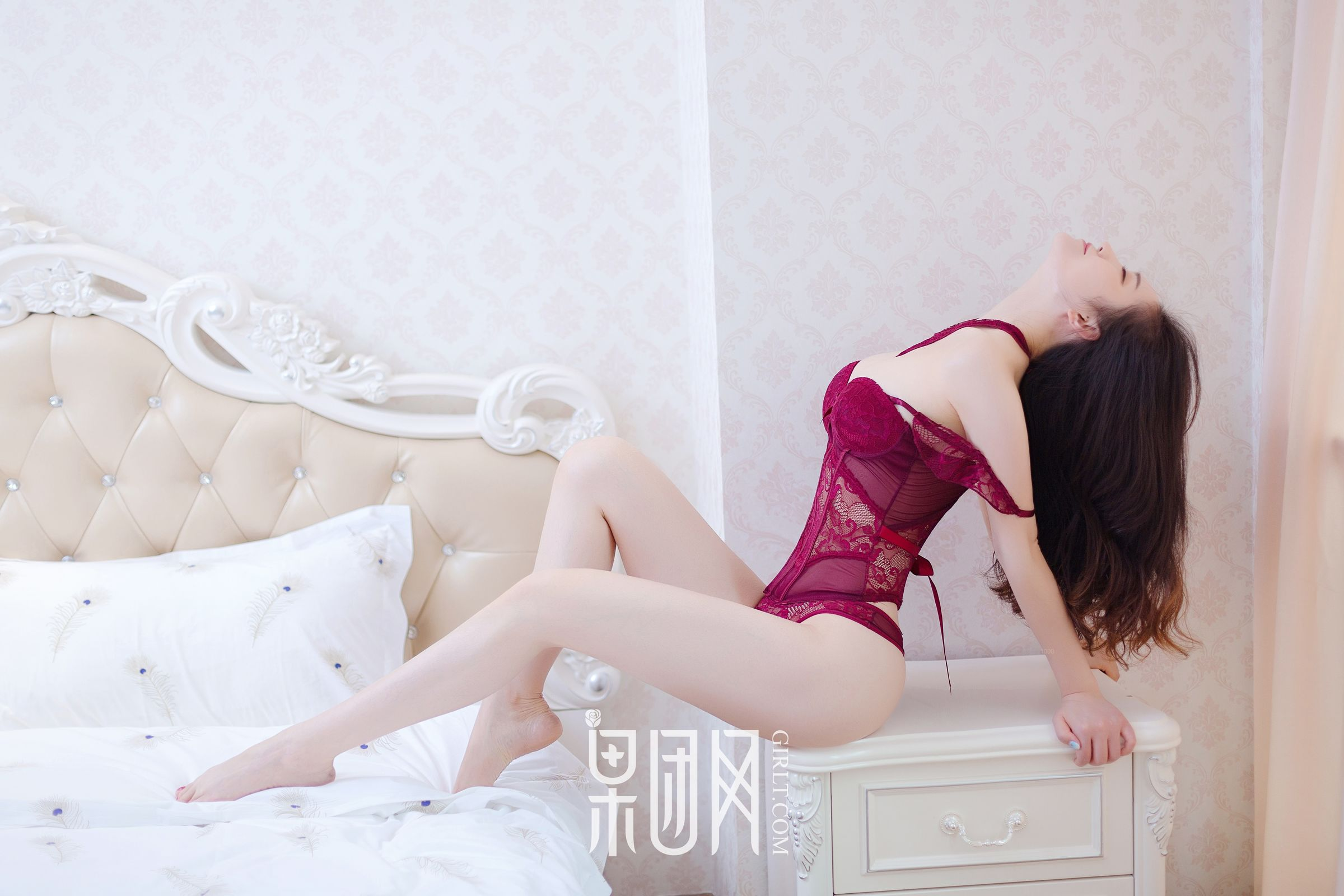 hot Chinese lingerie glamour